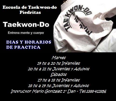 Escuela De Taekwon Do Gral Villegas